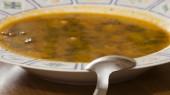 Polévky se lžičkou — Stock fotografie