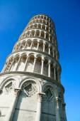 Leaning Tower of Pisa or Torre pendente di Pisa, Miracle Square  — Stock Photo