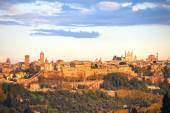 Orvieto medieval town panoramic view. Italy — Foto de Stock