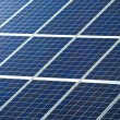 Photovoltaic panel for solar power generation texture or pattern — Stock Photo #65404411