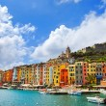 Portovenere village on the sea. Cinque terre, Ligury Italy — Stock Photo #73509601