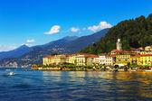 Cidade de Bellagio, distrito do Lago de como paisagem. Itália, Europa. — Fotografia Stock