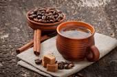 Ontbijt koffie — Stockfoto