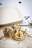 Vitesses d'horloge mécanique — Photo