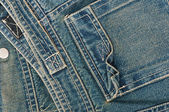 Background of denim texture — Stock Photo