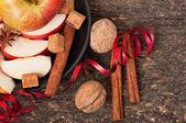 Apple a koření — Stock fotografie