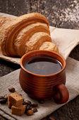 Breakfast coffee — Stock Photo