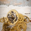 Mechanical clock gears — Stock Photo #57647141