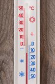 Stary termometr — Zdjęcie stockowe