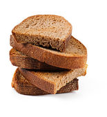 Toasted wholemeal bread — Stock Photo