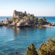 Panoramic view of Isola Bella (Beautiful island): small island n — Stock Photo #56016679