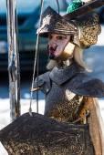 Sicilian puppet for sale, Sicily — Stock Photo