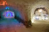 Underground permafrost museum at Yakutsk Russia — Stock Photo