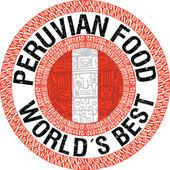 Peruvian food illustration — Stock Vector