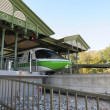 High speed monorail train closeup — Stock Photo #65643633