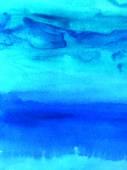 Abstraktní akvarel, malované pozadí — Stock fotografie