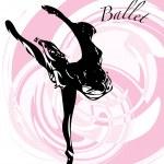 Ballet Dancer illustration — Stock Vector #75703093
