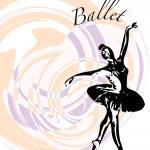 Ballet Dancer illustration — Stock Vector #75703107