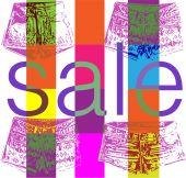 Shopping sale banner — Stock Vector