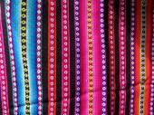 南アメリカのインドの織物 — ストック写真