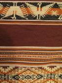 South America Indian woven fabrics — Stock Photo