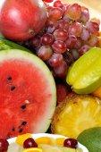 Fresh various fruits — Stock Photo