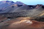 Timanfaya National Park in Lanzarote Island, Spain — Stockfoto