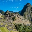 Machu Picchu ruins peruvian Andes  Cuzco Peru — Stock Photo #57915871