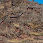 Pisac ruins peruvian Andes Cuzco Peru — Stock Photo #57916173