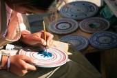 Woman handcraft Ouro Preto Minas Gerais Brazil — Stock Photo