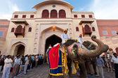 Gangaur Festival at Rajasthan India — Stock Photo