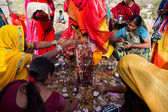 Gangaur Festival at Rajasthan India — Stock Photo