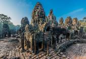 Prasat bayon temple Angkor Thom Cambodia — Stock Photo