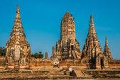 Wat Chai Watthanaram temple Ayutthaya bangkok Thailand — Stock Photo