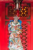 Taoism god sculpture Sik Sik Yuen Wong Tai Sin Temple Kowloon Ho — Stock Photo