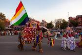 Festiwal gangaur festiwal jaipur — Zdjęcie stockowe