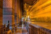 Buddha Wat Pho temple bangkok Thailand — Stock Photo