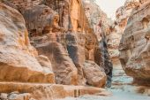 In Nabatean city of  Petra Jordan — Stock Photo