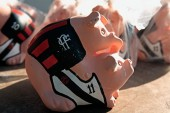 Piggy bank Flamengo and Botafogo Old Maracana Stadium — Stock Photo