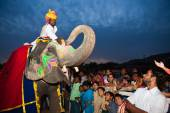 Gangaur Festival-Jaipur — Stock Photo
