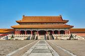 Taihemen Gate Of Supreme Harmony Imperial Palace Forbidden City — Stock Photo