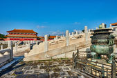 Taihedian Home Of Supreme Harmony Imperial Palace Forbidden City — Stock Photo