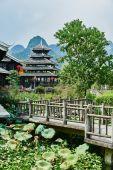 Shangri La Guilin Yangshuo Guangxi  China — Stock Photo