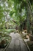 Du Fu thatched Cottage Chengdu Sichuan China — Stock Photo