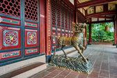 Qingyang Gong temple Chengdu Sichuan China — Stock Photo