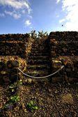 ступенчатые пирамиды — Стоковое фото