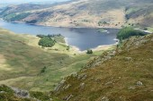 Mardale Valley — Stock Photo