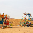 HURGHADA, EGYPT - MAY 18, 2015 Playground for children in the Bedouin village — Stock Photo #75512631