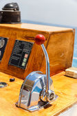 Nautical ships control panel — Stock Photo