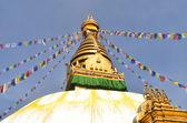 Swayambhunath Stupa taken in the capital of Nepal, Kathmandu — Stock Photo